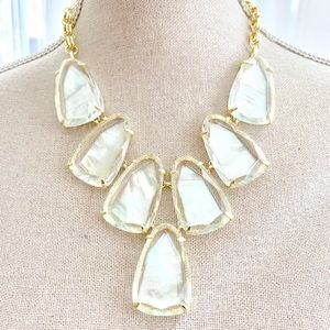 Kendra Scott mother of pearl Iridescent Necklace